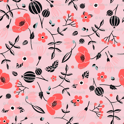 blush // pink // spring birds collection