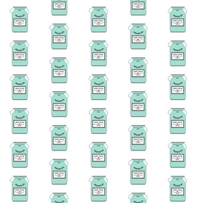 Farm Fresh jugs -  mint gray MED 35