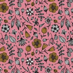 wild flora // pink // in bloom collection