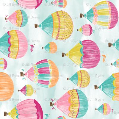 Hot Air Balloons - Rotated