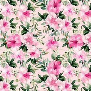 "4"" Pink Summer Florals - Pink"