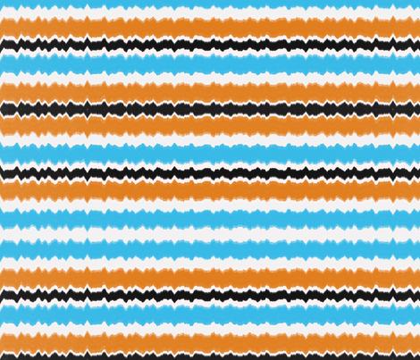 Coastal stripe fabric by lauriekentdesigns on Spoonflower - custom fabric