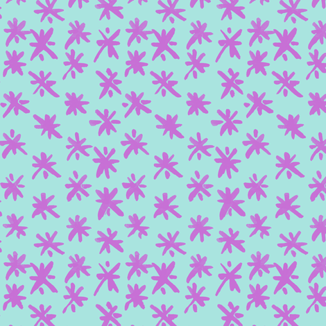 Skritchy in Bubblegum fabric by house_designer on Spoonflower - custom fabric