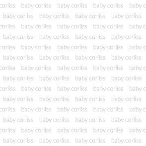 baby corliss