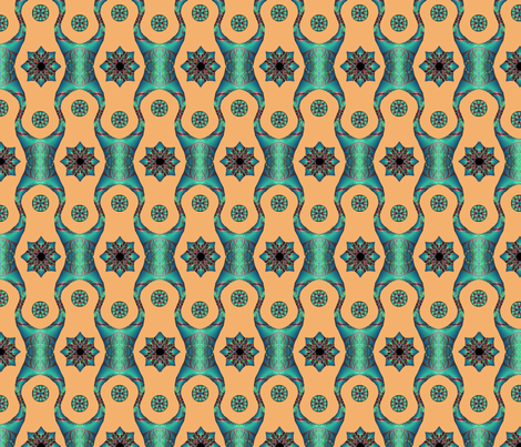 Marrakesh Fractal fabric by anneostroff on Spoonflower - custom fabric