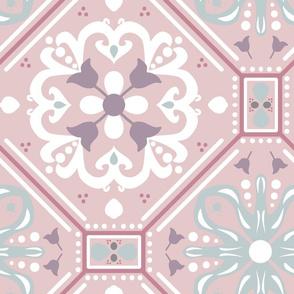 Purple Morocco Tile