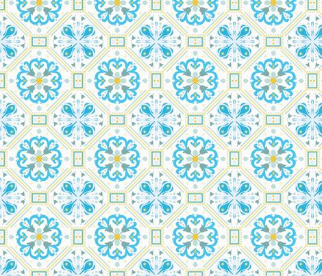 Marrakesh Tiles fabric by legendaryee on Spoonflower - custom fabric