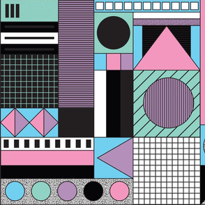 Key Points via Weimar (Bauhaus pastel)