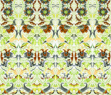 renaissance 108 fabric by hypersphere on Spoonflower - custom fabric