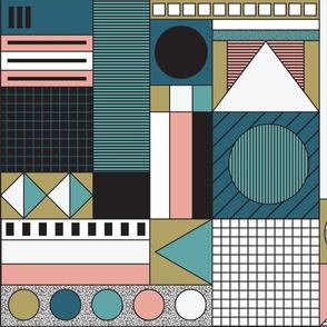 Keypoints via Weimar - Bauhaus green taupe pink-01