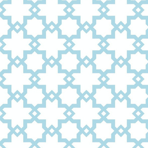 Kasbah White-Powder Blue