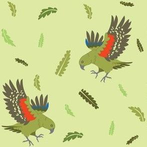Cheeky Kea (Part of NZ Birds Collection)