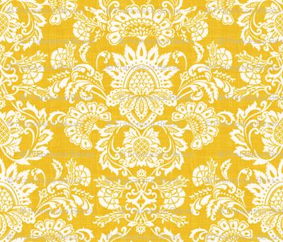 damask yellow