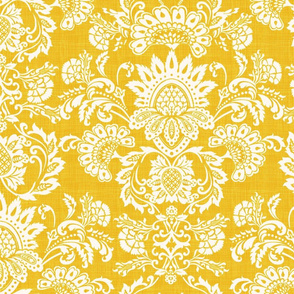damask yellow