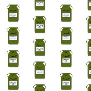 Farm Fresh jugs LARGE525- bay leaf green gray