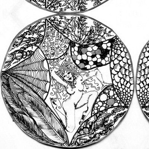 Among the textural pleasures-B&W&Silver