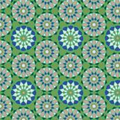 Moroccan Mosaic Pattern Green