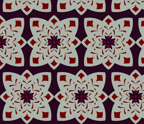 Elegant Holiday-Model fabric by jasmandy on Spoonflower - custom fabric