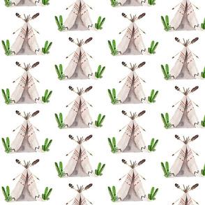 Boys Aztec Cactus & Teepee