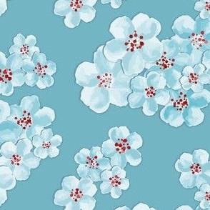 pale garden // blue