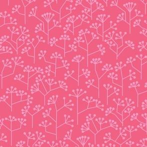 World love wild flowers pink