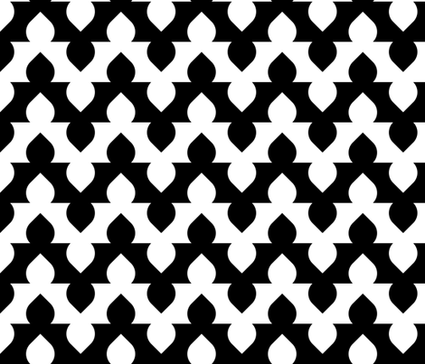 07553949 : arch dome zigzag fabric by sef on Spoonflower - custom fabric