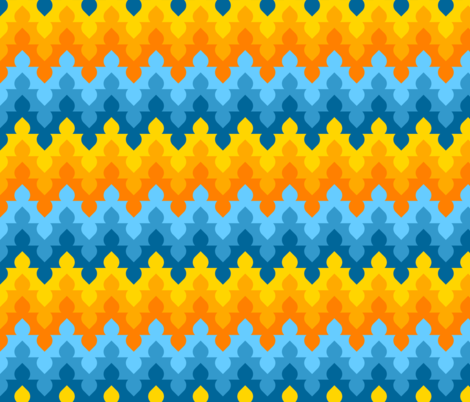 07554076 : arch dome zigzag 6 fabric by sef on Spoonflower - custom fabric
