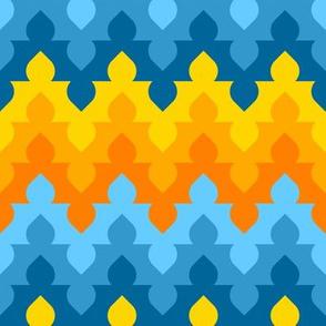 07554076 : arch dome zigzag 6