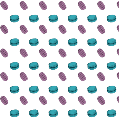 Macarons  fabric by noxfleur on Spoonflower - custom fabric