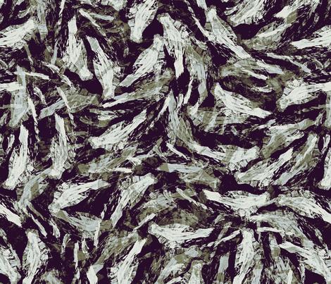 birds_ink_black fabric by wren_leyland on Spoonflower - custom fabric