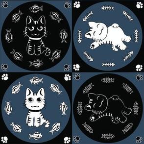 "Navy Cat-n-Fish 4X4"""