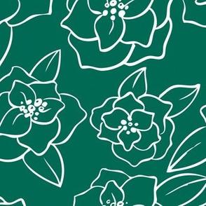 Magnolia Linework