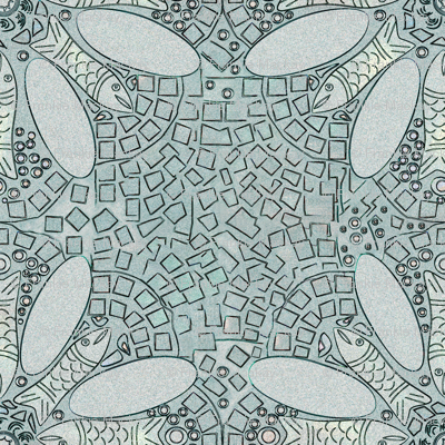 Marrakesh Fish Tile