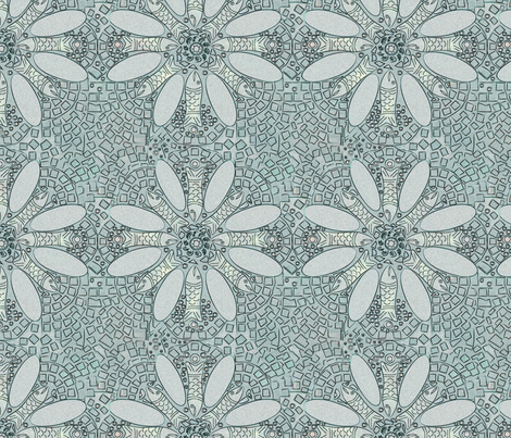 Marrakesh Fish Tile fabric by frankie_maree on Spoonflower - custom fabric