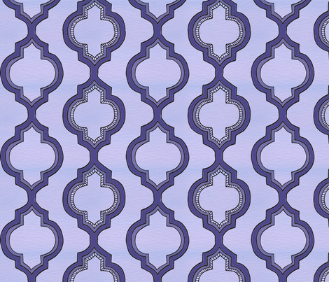 Doodle Morroccan fabric by moongoose_designs on Spoonflower - custom fabric