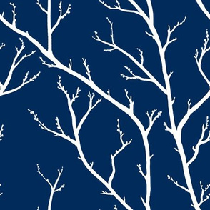 Branches on Indigo