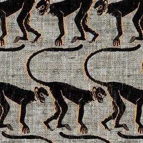 monkey see black