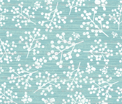 Farmhouse Twigs - Light Teal