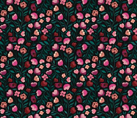 Winter Velvet fabric by carlywatts on Spoonflower - custom fabric