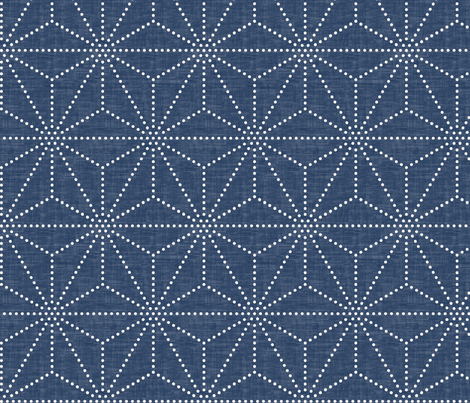 Shibori Stars fabric by kimsa on Spoonflower - custom fabric