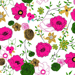 Stasia Floral Large Scale