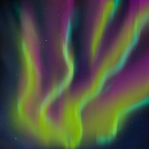 Neon Aurora Borealis