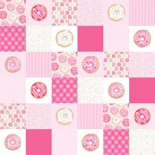 Pink-donuts-cheater-quilt-6-inch-squares-hazel-fisher-creations_shop_thumb