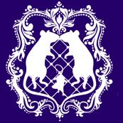 Rat Damask - Violet