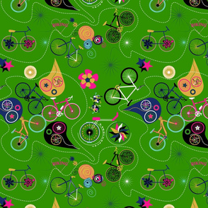 Cycledelic Green
