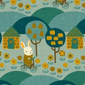 Autumn Ride {Teal}