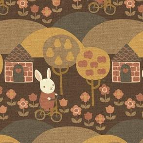 Autumn Ride {Brown}