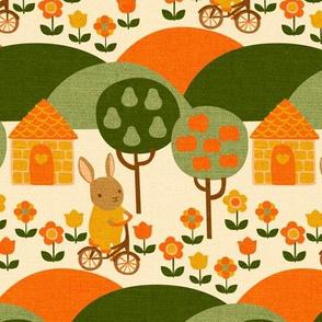 Autumn Ride {Orange}