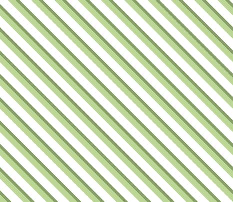 diagonal stripes light green  - large fabric by michaelakobyakov on Spoonflower - custom fabric
