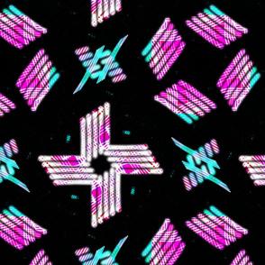 Violet Pink Crosses